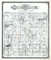 Saxeville Township, Waushara County 1924